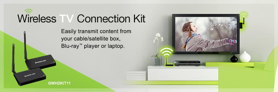 IOGEAR - GWHDKIT11 - Wireless HD TV Connection Kit