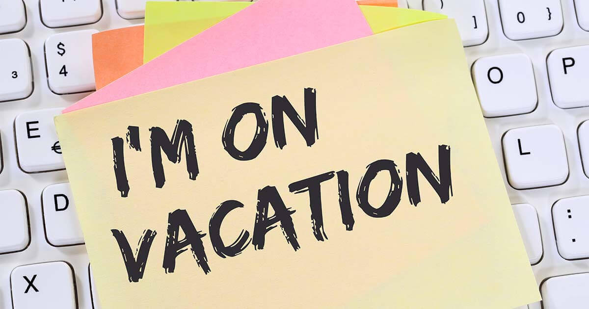 Out of office message Examples and templates - 11 IONOS