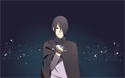 Adult-Sasuke-Dark-Wallpaper • iOS Mode