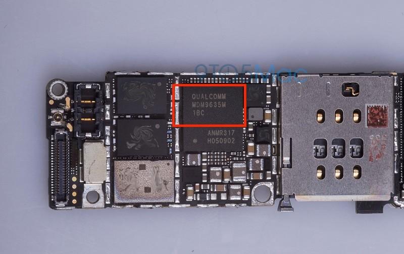 iphone 6s qualcomm chip 4g lte