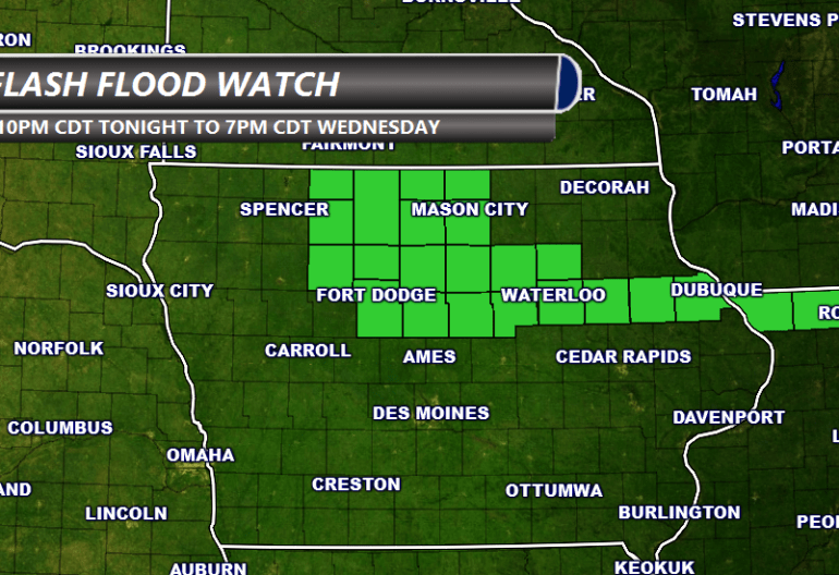 Flash Flood Watch Iowa