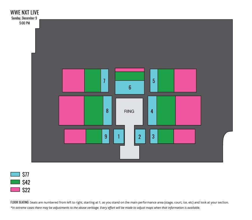 WWE NXT LIVE! Iowa Events Center