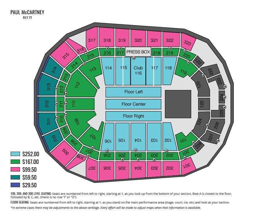 Paul McCartney Wait List Iowa Events Center