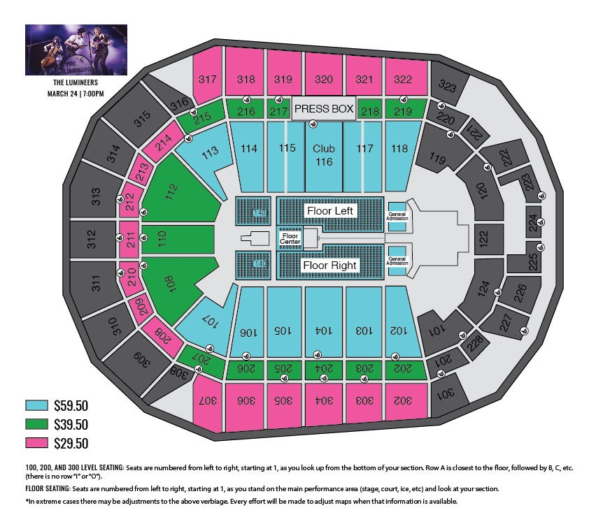 Event Center Seating Chart Related Keywords  Suggestions - Event