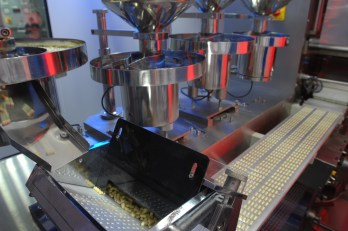 A blistering machine in Zenufa's Dar es Salaam plant, which gained GMP status in 2009 (Photo Credit: RMH, IP-Watch)