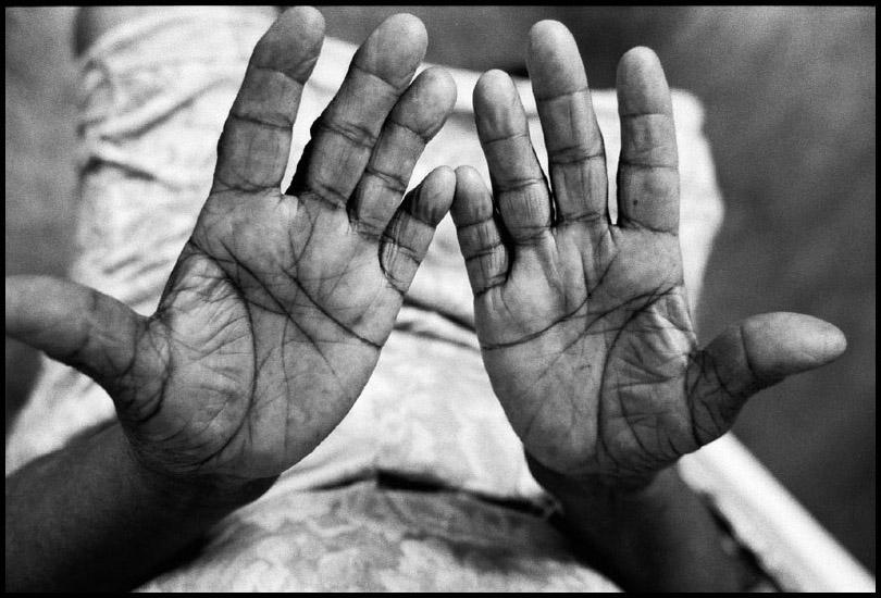 Hands of Maria Amelia