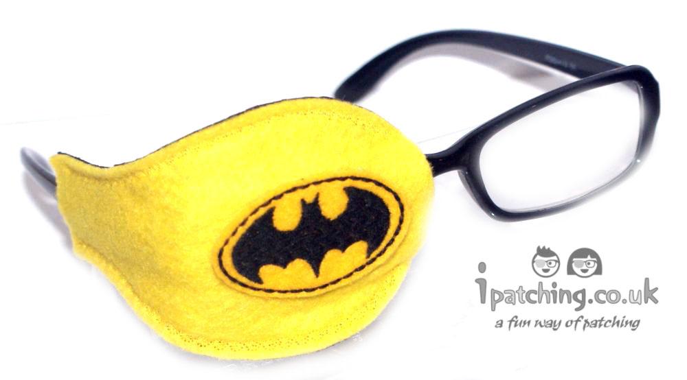 Batman Orthoptic Eye Patch