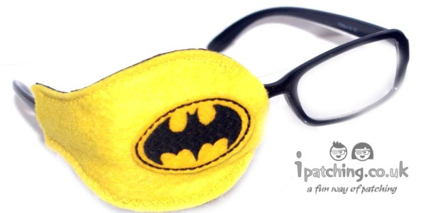 Batman Orthoptic Eye Patch