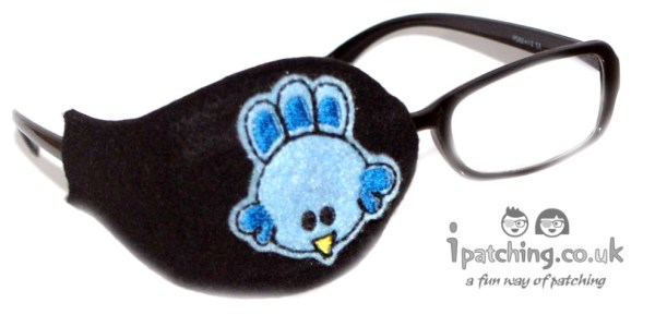 Blue Bird Orthoptic eye patch