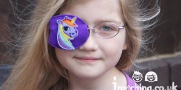 Kids Orthoptic Eye Patch Unicorn
