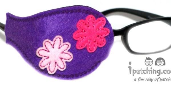 Flower Eye Patch