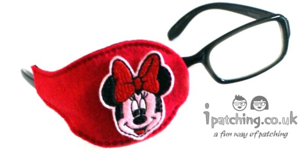 Minnie Mouse Orthoptic Eye Patch