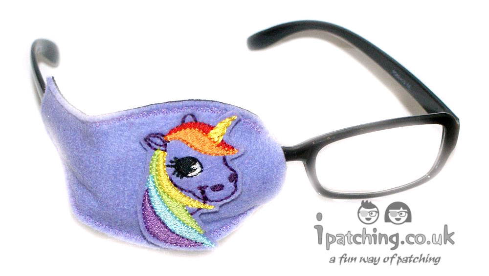 Violet_Unicorn_On_Violet_Plastic_Frame_Orthoptic_Eye_Patch