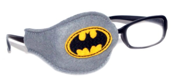 Batman_On_Grey_Plastic_Frame_Orthoptic_Eye_Patch_1
