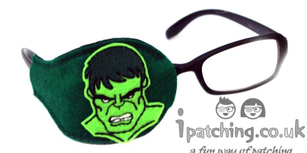 Hulk Orthoptic Eye Patch