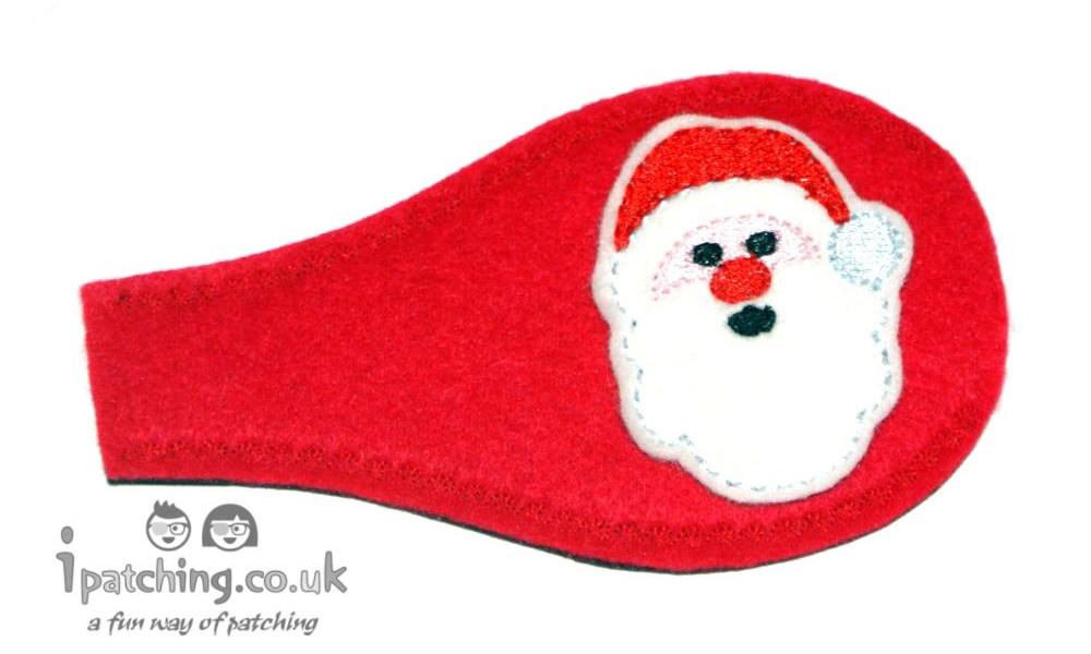 Santa Christmas Eye Patch