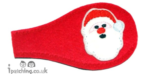 Santa Christmas Eye Patch