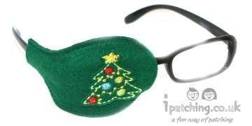 Christmas Tree Orthoptic Eye Patch