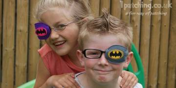 Batman/Batgirl orthoptic eye patch