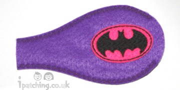 Batgirl Orthoptic eye patch