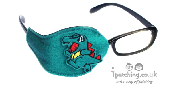 Totodile Pockemon Orthoptic Eye Patch