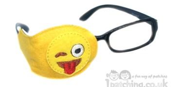 Emoji orthoptic eye patch