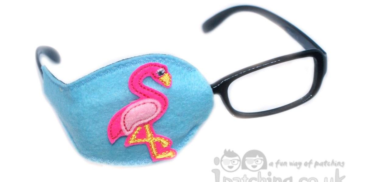 Flamingo Orthoptic Eye Patch