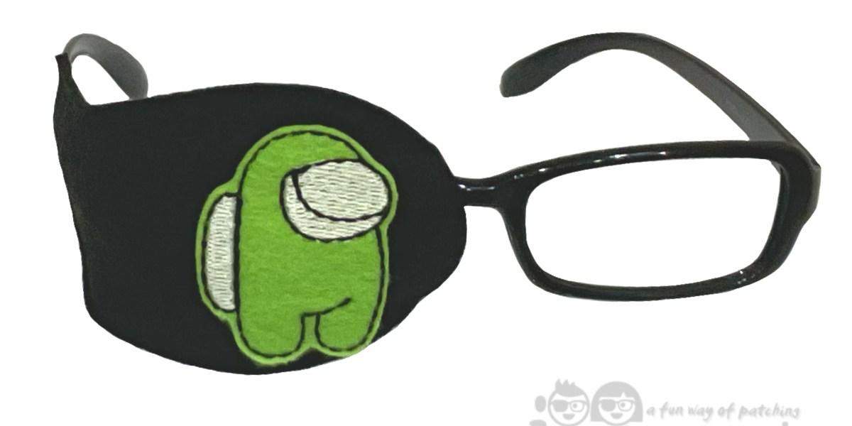 Among Us orthoptic eye patch