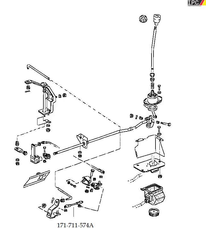 1972 volkswagen beetle del Schaltplan