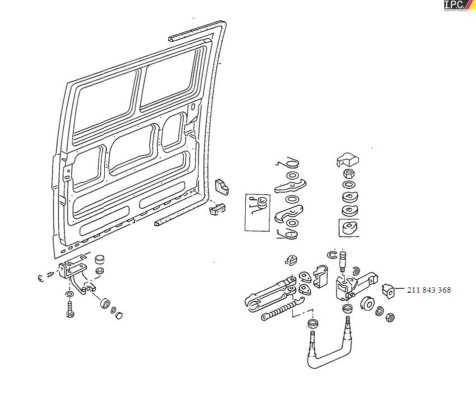 vw t5 sliding door wiring diagram