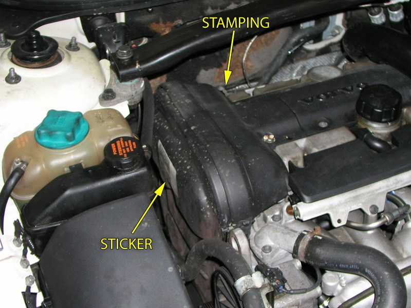 How do I find my engine serial number or engine family? (FWD/AWD models)