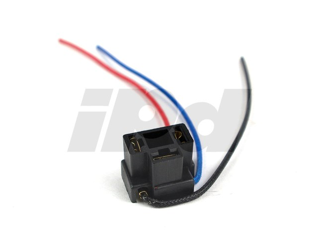 Volvo Headlamp Socket Electrical Connector - H4 Flosser 124481