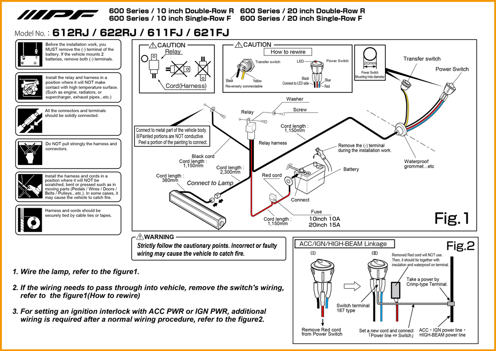 Ipf Wiring Harness Wiring Diagrams