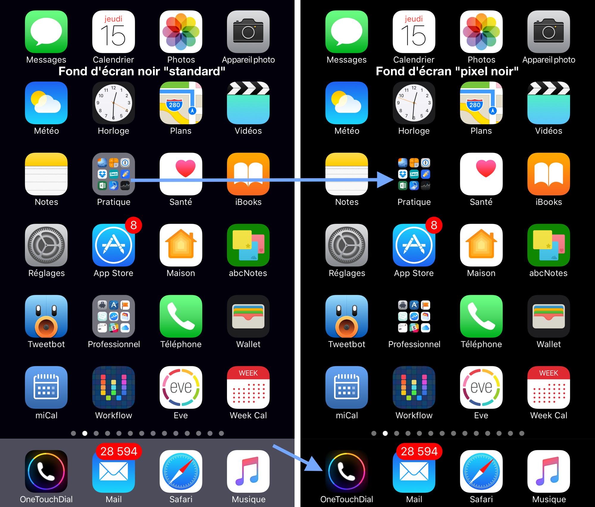 Wallpaper For Iphone X App Profitez D Un Quot Glitch Quot Ios 10 Quot Pour Offrir Un Fond D 233 Cran