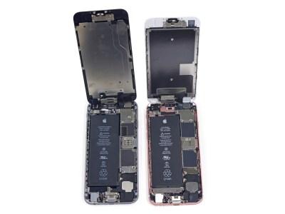 Démontage de l'iPhone 6s : ce qui a changé et photos
