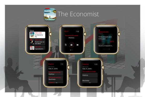 Apps für goldene iWatch - The Economist