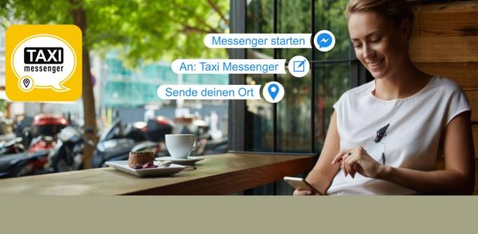 Facebook Messenger taxi bestellen
