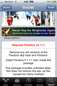 pandora22 200x300 Cydia Tweak Reviews