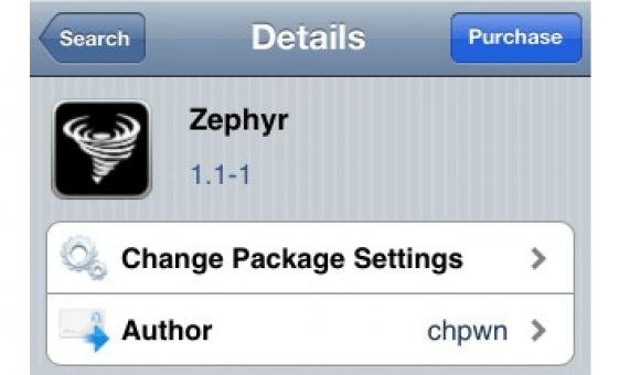 Zephyr1 Awesome Cydia Apps For iPhone 4S or iPad 2 New Jailbreak 2012