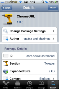 chromeurl 200x300 Chromizer/ChromeURL Add Usability To Google Chrome For iOS Users