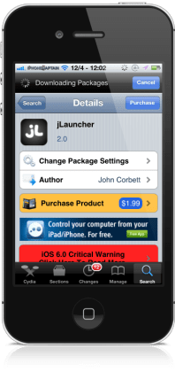 jlauncher33 198x420 jLauncher Cydia Tweak Gets Nice Updates: Multitask On Single Page