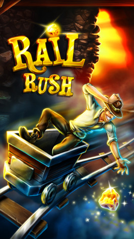 railrushers Rail Rush iOS App Free Limited Time in App Store