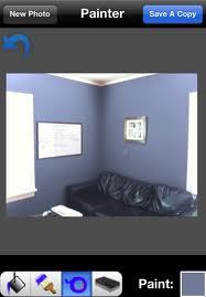 Test verfkleuren voor de muur met de iPhone Paint Tester ...