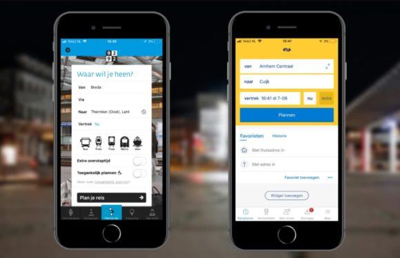 NS Reisplanner versus 9292 OV de populairste ov-apps vergeleken