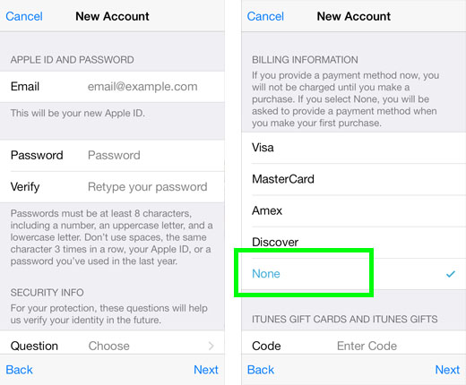 Do I need a credit card to create an Apple ID? The iPhone FAQ