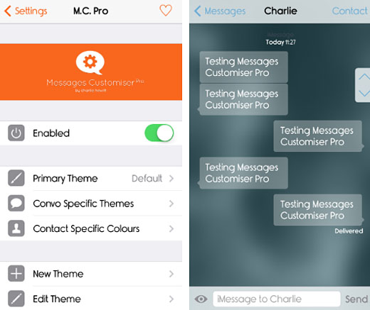 Messages Customizer Pro Tweaks the Messages App The iPhone FAQ