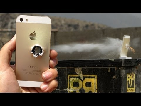 Cracked Screen Wallpaper Iphone 6 Watch Slo Mo Video Of A Bullet Passing Through The Iphone