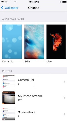 How To Create Live Wallpapers For iPhone 6S   iPhoneTricks.org