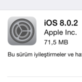 iPhone ve iPad için iOS 8