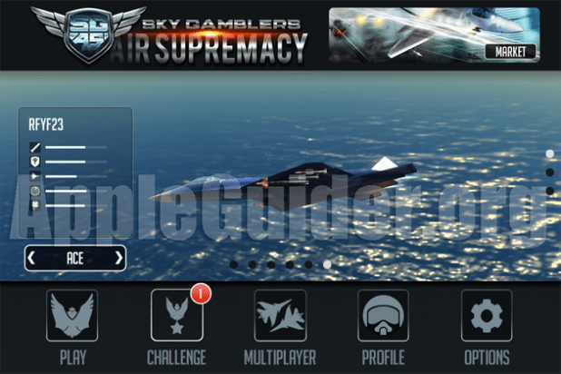 Sky Gamblers: Air Supremacy v1.2.0 cheats all jets unlocked